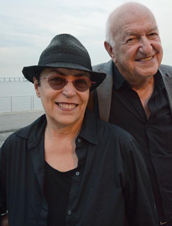 O casal Mera e Don Rubell, em visita ao Rio de Janeiro, em setembro deste ano. (Foto: Marco Rodrigues)