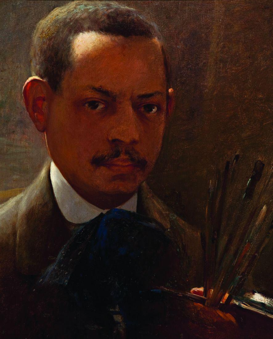 Autorretrato (1908) de arthur Timótheo da Costa, doado por Benjamin de Mendonça para a Pinacoteca de São Paulo, em 1956 (Foto: Isabella Matheus/Cortesia Pinacoteca)