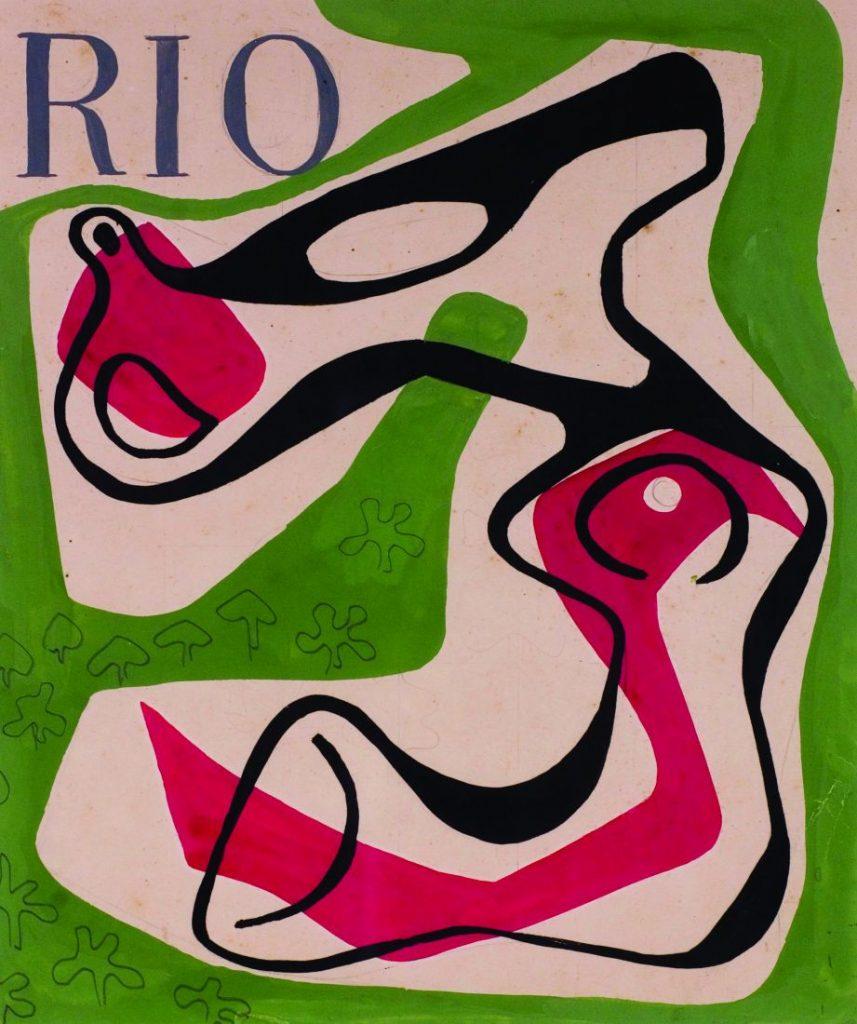 Trabalho de Burle Marx que integra à exposição (Foto: Sítio Roberto Burle Marx)