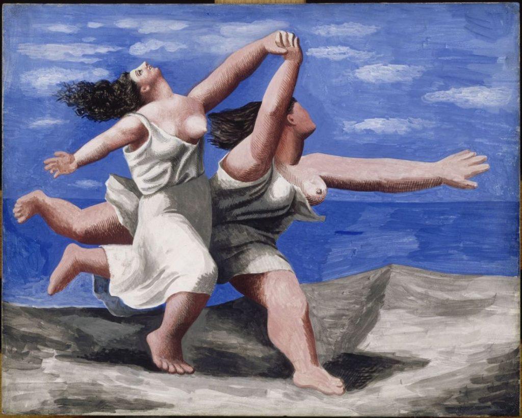 Pablo Picasso - Deux Femmes Courant Sur La Plage (Imagem: Musée Picasso-Paris)