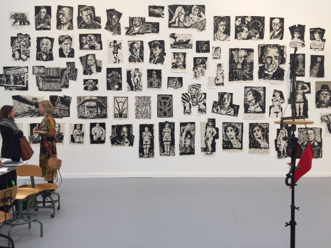 Drawings for 'Lulu', de William Kentridge, 2012-2015 (Foto: Paula Alzugaray)