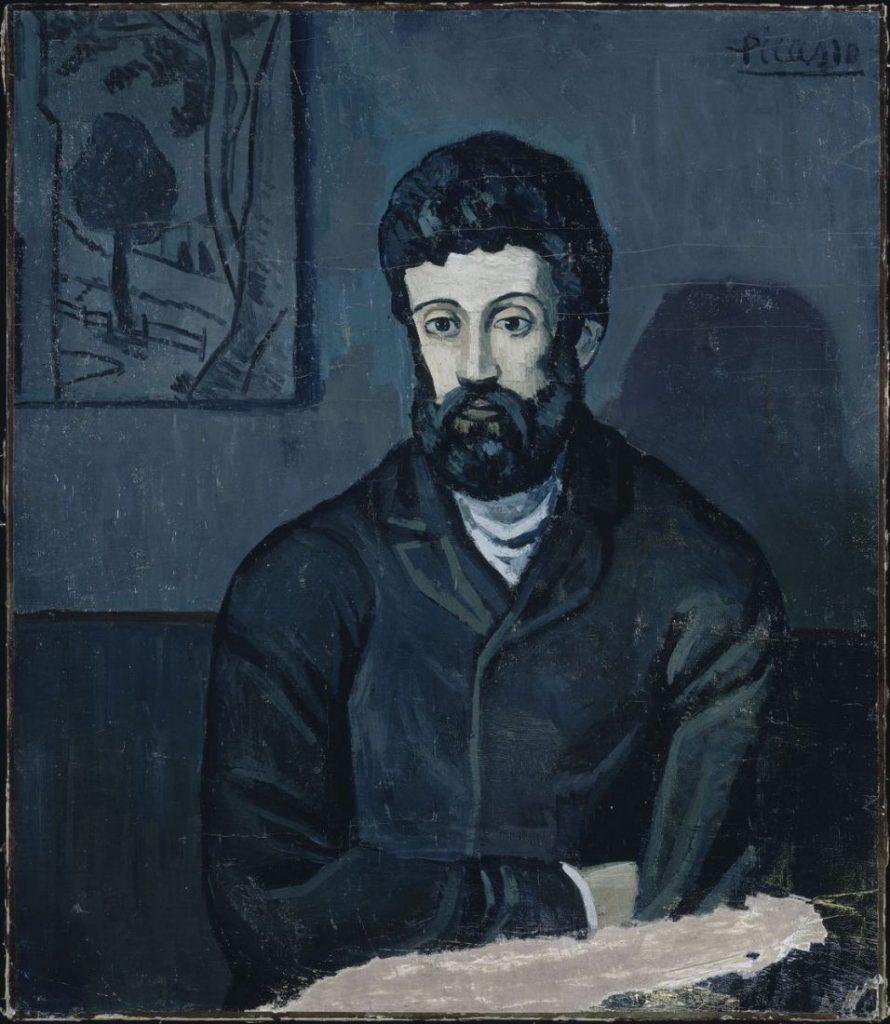Pablo Picasso - Portrait d'homme (Imagem: Musée Picasso-Paris)