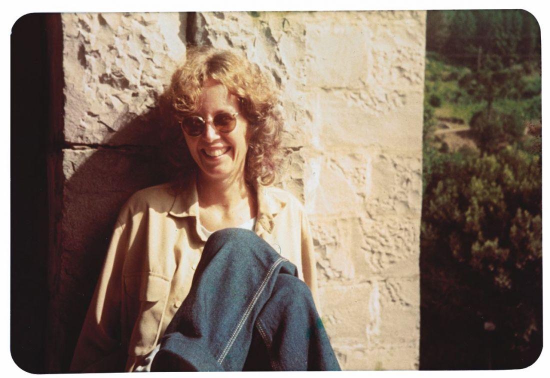 Ana Cristina Cesar, Caxias do Sul (RS), verão de 1983 (Foto: Katia Muricy/Arquivo pessoal Katia Muricy/IMS)