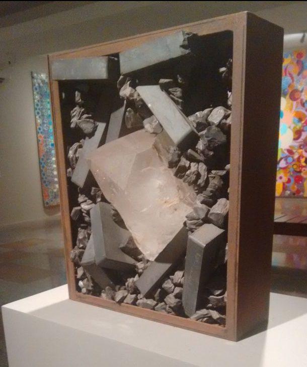 Escultura de Tunga (Foto: Ana Abril)