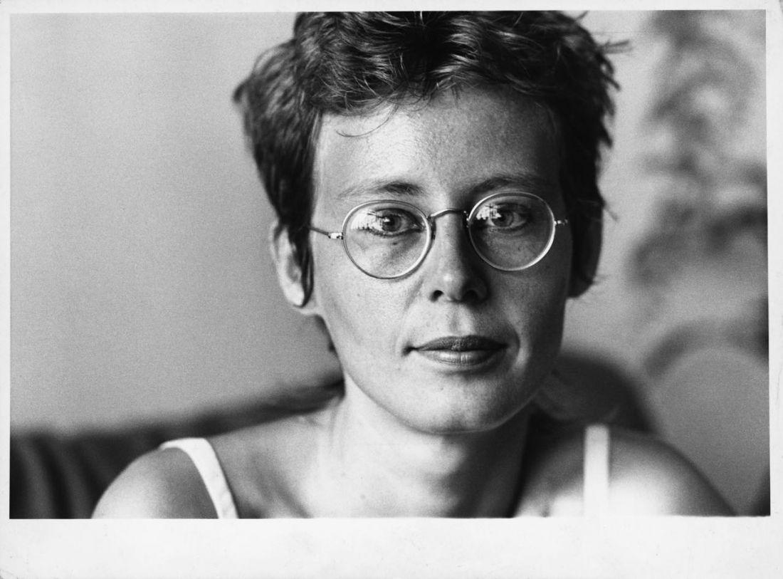 Ana Cristina Cesar, s.l., fev. 1983 (Foto: Acervo Ana Cristina Cesar/IMS)