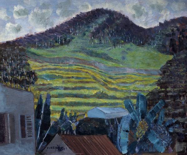 Paisagem de Petrópolis, de Cândido Portinari (Foto: Reprodução)
