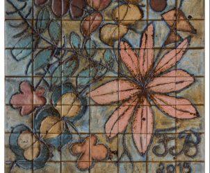 Detalhe de mural de Brennand (foto: Fred Jordão)