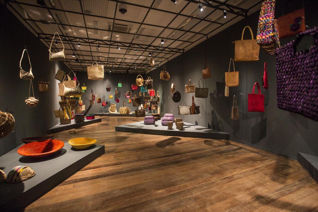 Salas da exposição Origem Vegetal, que inaugurou o Centro de Referência do Artesanato (Crab), iniciativa ambiciosa do Sebrae no Centro do Rio de Janeiro (Foto: Divulgação/Sebrae-RJ)