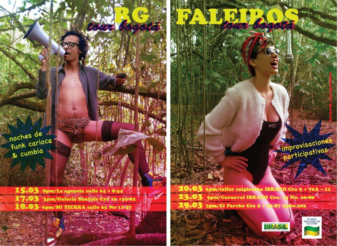 Tour Bogotá (2012), de Rafael Rg e Fabiana Faleiros (Foto: Cortesia Fabiana Faleiros)