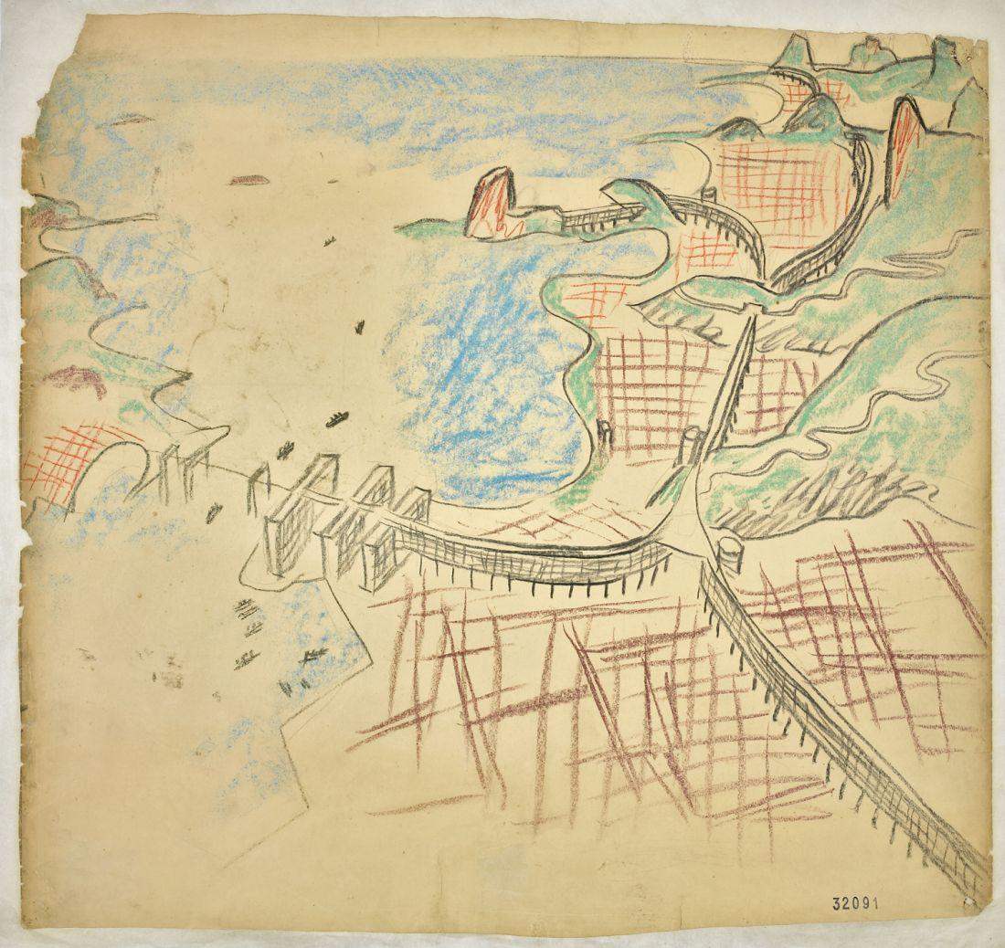 Le Corbusier - Projeto modernista para o Rio de Janeiro (Foto: Divulgação)