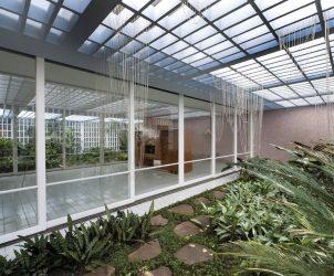 Imagem do novo espaço que abriga Luciana Brito Galeria (Foto: Cortesia Galeria Luciana Brito)