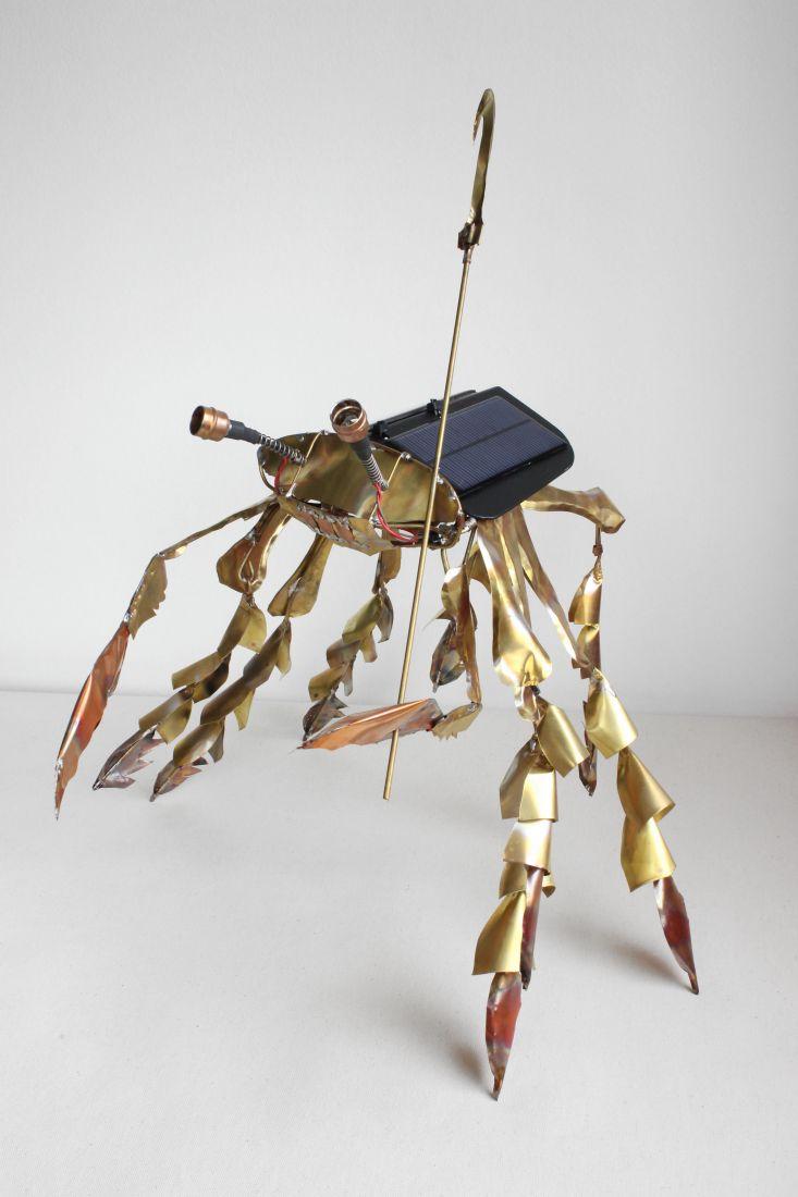 Worker Crab (2013), de Paulo Nenflídio (Foto: Cortesia Paulo Nenflídio)