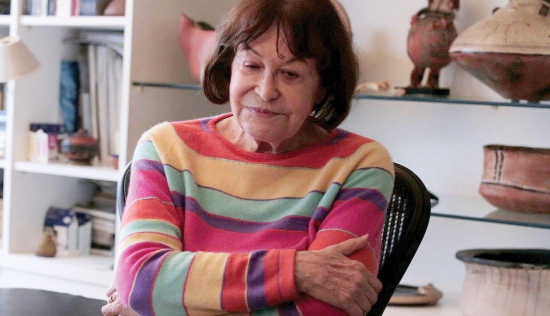 Claudia Andujar, fotógrafa protagonista do filme Gyuri (Foto: Mariana Lacerda)
