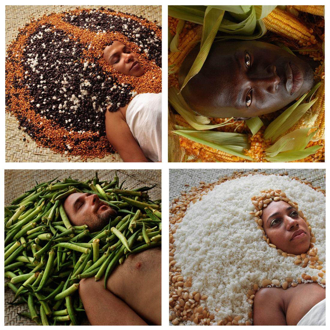 Ayrson Heráclito - Fotografias da série Bori (Foto: Ayrson Heráclito/Cortesia Blau Projects)