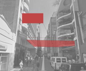 Projeto proposto pelo participante Synaqs de revitalizar e adicionar novas passagens e pistas em galerias do centro da cidade