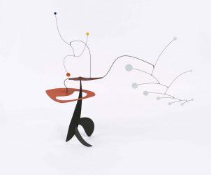 Sem Título (1947), de Calder, em exposição no Itaú Cultural (Foto: Calder Foundation, New York/ Art Resource, New York © 2016 Calder Foundation, New York/ AUTVIS, Brasil)