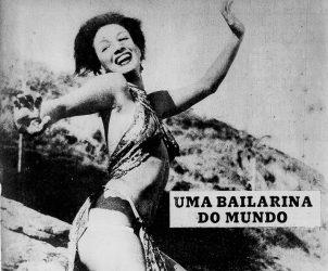Carmen Silvia Brown Munefeld, conhecida como A Vênus de Bronze, nascida na Noruega e naturalizada chilena, foi fichada ao obter visto de permanência no Brasil, em 1945 (Foto: Cortesia Clarice Hoffmann)