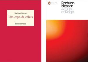 Edições em português e em inglês do livro do brasileiro Raduan Nassar, que será lido em árabe na Bienal de São Paulo, num projeto do artista libanês Rayyane Tabet (Fotos: Divulgação/ 32ª Bienal de São Paulo)