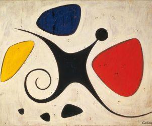 Alexander Calder - Santos (1956) (Foto: Calder Foundation, New York / Art Resource, New York © 2016 Calder Foundation, New York / AUTVIS, Brasil)