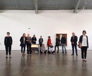Grupo de colecionadores convidados pelo projeto Art Immersion Trip (Foto: Divulgação)