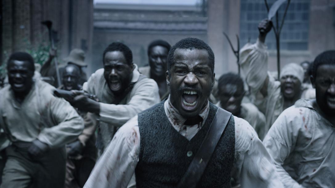 Frame da releitura do filme de Griffith, O Nascimento de uma Nação, dirigido por Nate Parker