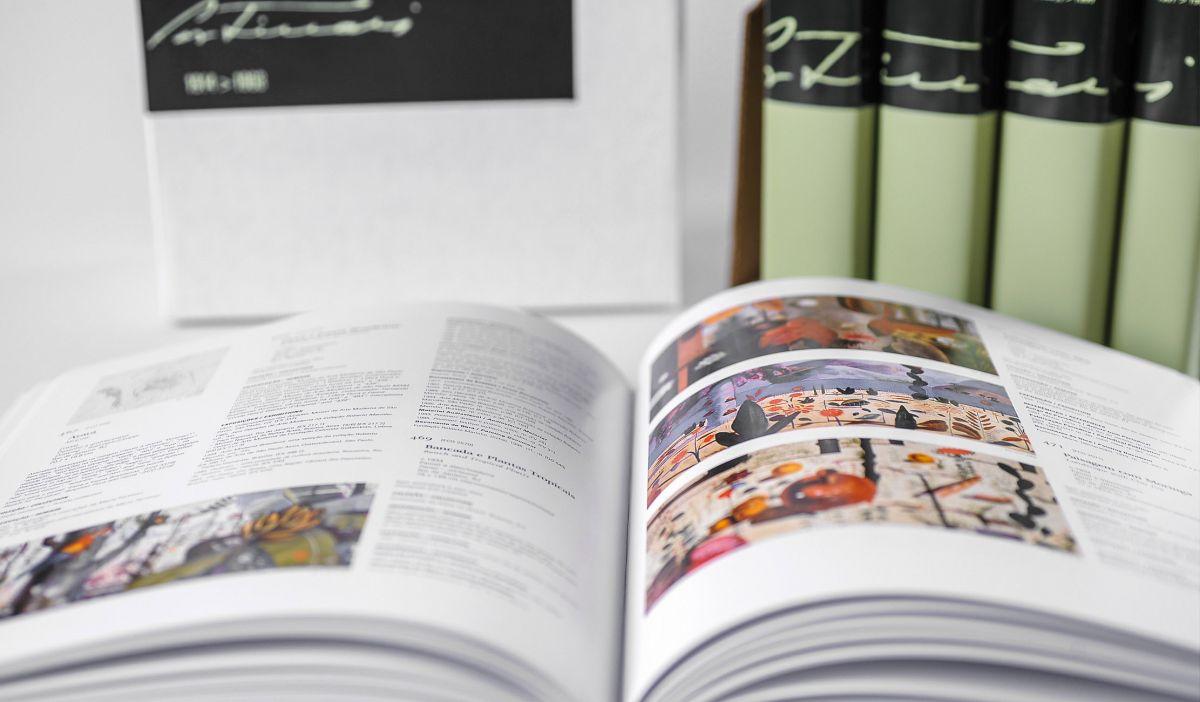 Catálogo raisonné de Cândido Portinari, lançado em 2004