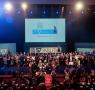 Cerimônia de entrega do 57º Prêmio Jabuti, realizada em 2015 (Foto: Reprodução)
