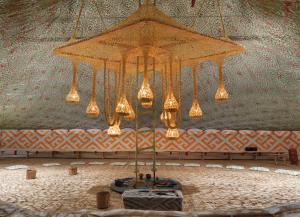Aru Kuxipa/ Sagrado Segredo (2015), na Thyssen-Bornemisza Art Contemporary Collection, em Viena (Foto: Jens Ziehe/ Cortesia TBA21-Augarten/ Cortesia Galeria Fortes Vilaça)