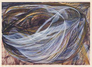 Aquarela da série The Eye of The Lord (1870), de Georgiana Houghton, artista espiritualista redescoberta recentemente (Foto: Cortesia de Courtauld Gallery/ Victorian Spiritualists Union, Meulbourne, Austrália)