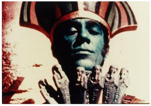 Frame de Lucifer Rising (1972), filme de Kenneth Anger, cineasta declaradamente seguidor de Aleister Crowley (Foto: Cortesia Marie Losier)