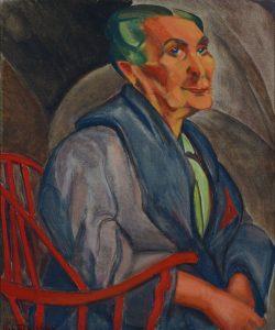 Anita Malfatti, Mulher de Cabelos Berdes (Foto: Divulgação)