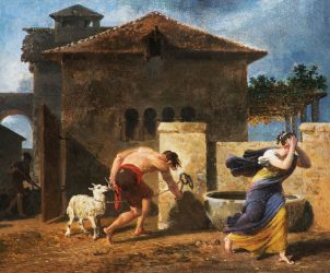 Nicolas-Antoine Taunay - Sacrifice de l'Agneau Chér (Foto: Cortesia Pinakotheke Cultural)
