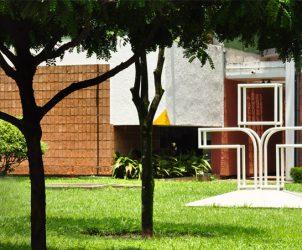 Símbolo da TV Cultura na sede da Fundação Padre Anchieta (foto: reprodução)