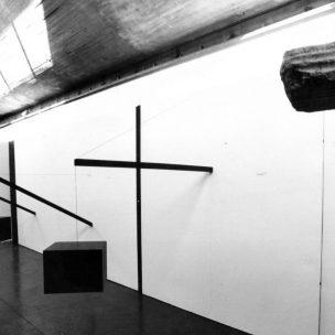 Trabalho de Carlos Zílio que integra a exposição Artensão (Foto: Leandro Carneiro)