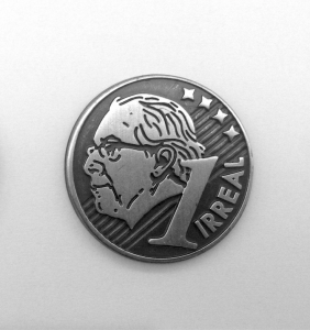 Figura do político Eduardo Cunha que estampa novo trabalho de André Parente (Foto: Divulgação)