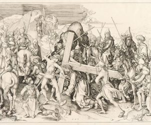 Cristo Carregando Cruz (1475), de Martin Schongauer (Foto: Iara Venanzi)
