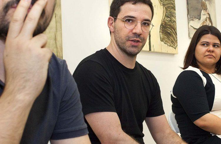 Felipe Kaizer, Eduardo Berliner e Priscyla Gomes