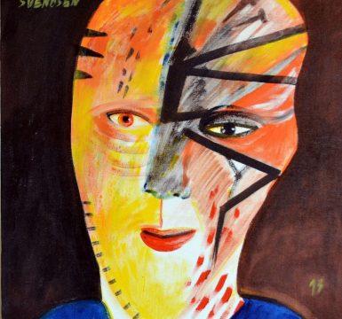 Pintura de Frederico Svendsen (Foto: Reprodução)