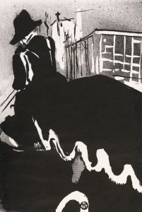 Ultimate Ballade, s/d, de Henri de Toulouse-Lautrec (Foto: Iara Venanzi)