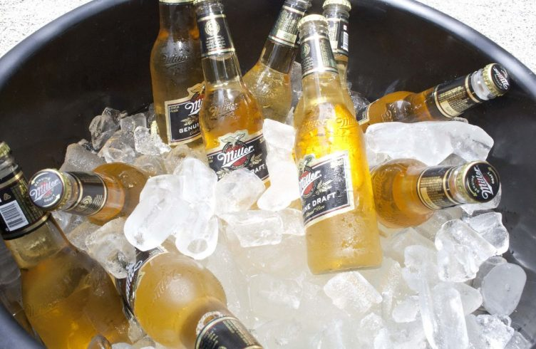 Cerveja Miller gelada