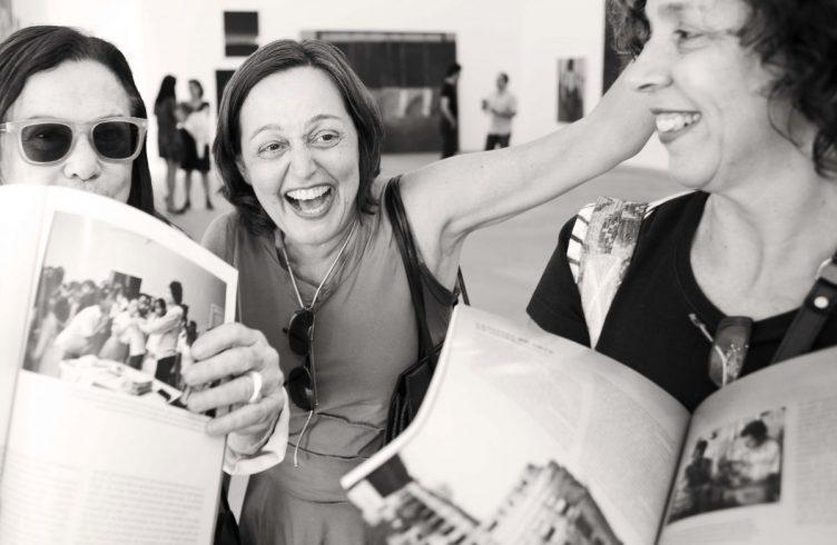 Leonor Amarante, Márion Strecker e Sofia Carvalhosa
