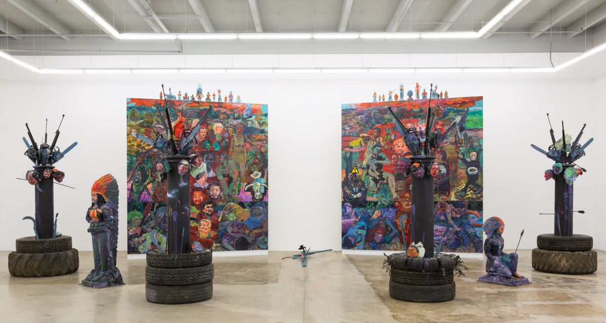 Trabalho de Thiago Martins de Melo que integra a exposição (Foto: Divulgação)