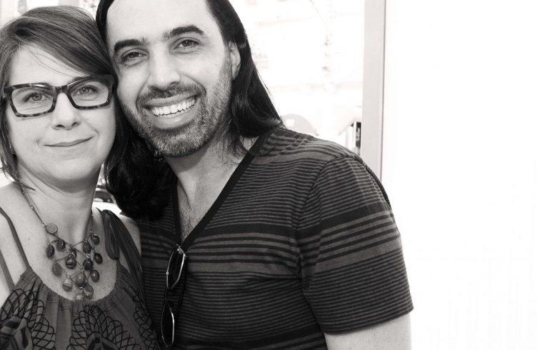 Paula Alzugaray e Thiago Honório
