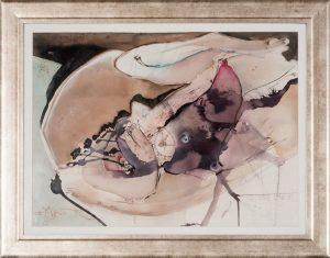 Pintura de Siegbert Franklin que integra a exposição (Foto: Divulgação)