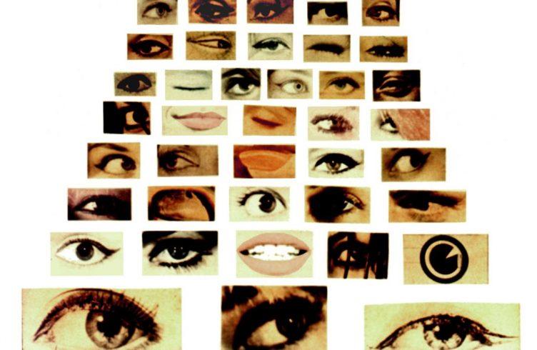 Detalha de VIVA VAIA - olho por olho, 1964, trabalho que integrou a mostra (Foto: Divulgação)