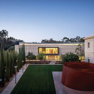 Distrito artístico da Universidade de Stanford, na Califórnia (Foto: Tim Griffith/ Anderson Collection, Stanford University)