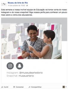Educativo do MAR toma conta das redes sociais da instituição