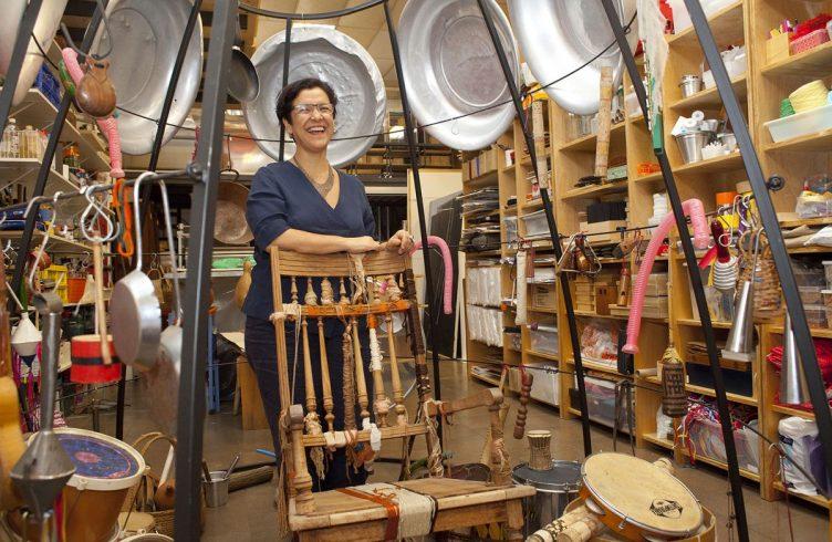 Stela Barbieri, artista, ex-coordenadora dos Educativos da Bienal e do Instituto Tomie Ohtake e diretora do Binah Espaço de Arte (Foto: Paulo D'Alessandro)