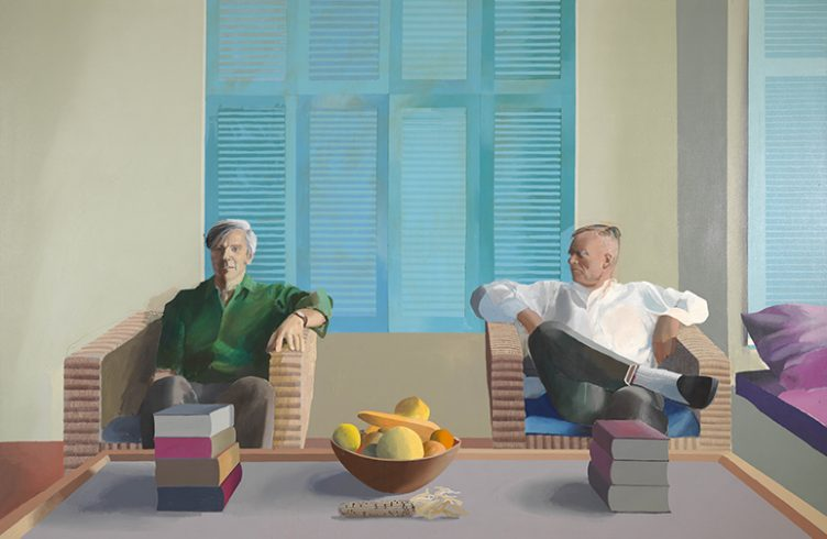 Christopher Isherwood e Don Bachardy (1968), de David Hockney (Foto: Divulgação)