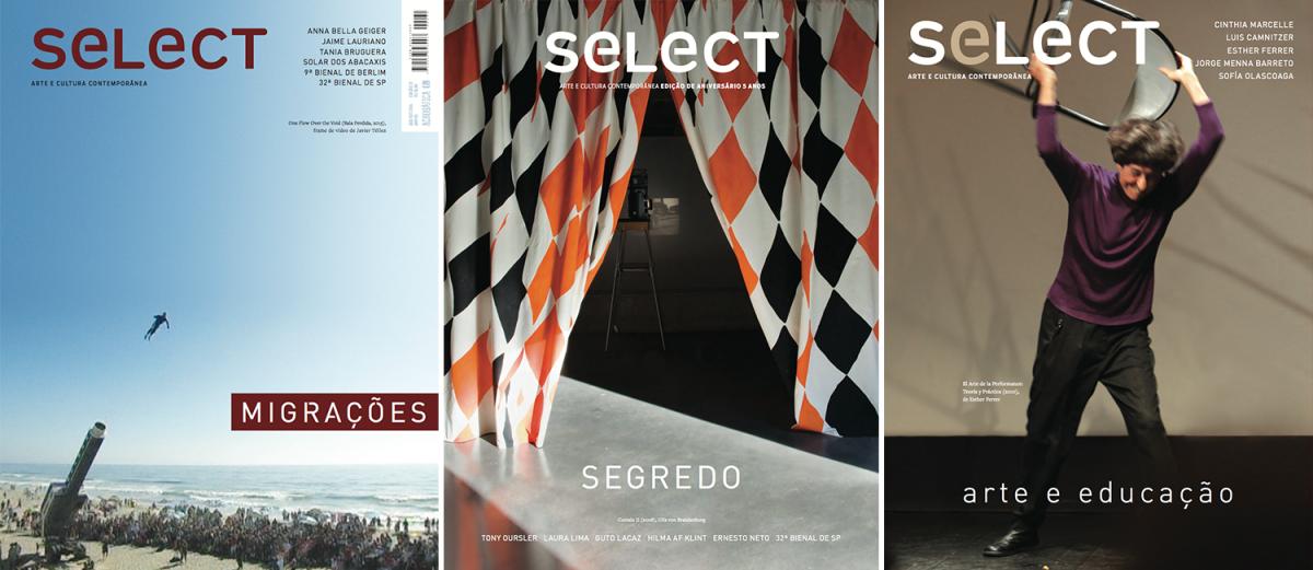 Edições 31, 32 e 33 da revista seLecT